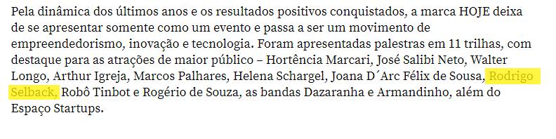 Matéria do Diário Catarinense