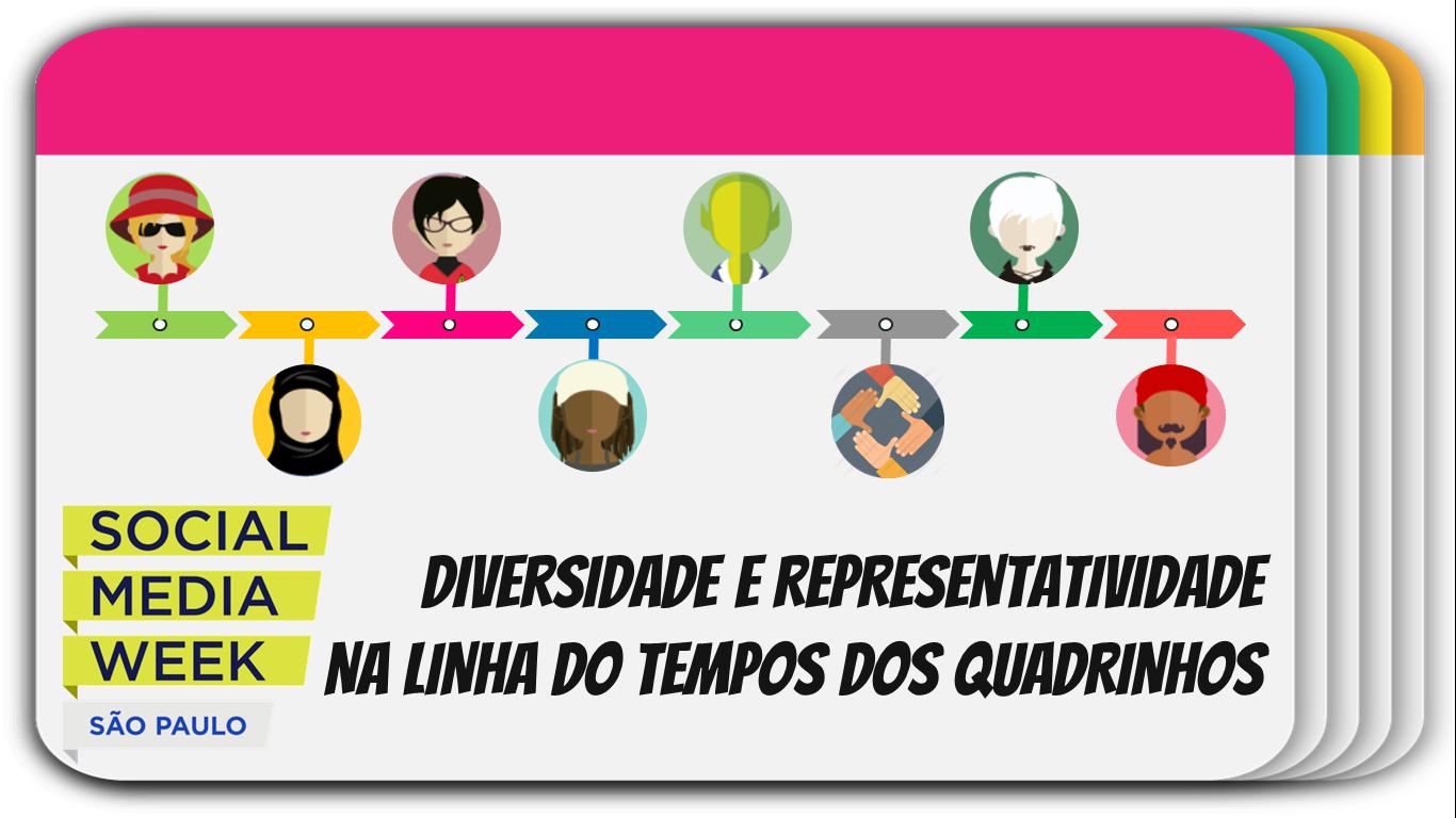 Diversidade e Representatividade nos Quadrinhos – Social Media Week São Paulo